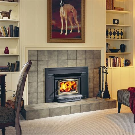 modern wood burning fireplace insert pacific energy vista series 23 x 20 wood burning