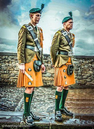 edinburgh tattoo gael members of the south african irish regiment with saffron