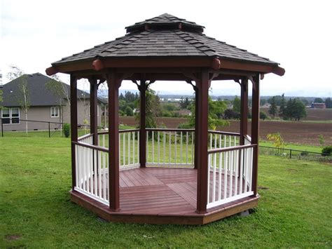 gazebo designs for backyards backyard gazebo ideas marceladick com