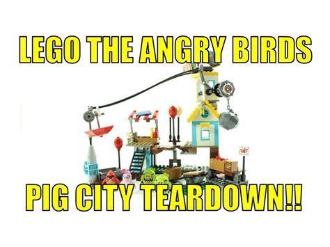 Lego Angry Bird Perahu Terbaru 2016 lego 2016 the angry birds 75824 pig city teardown review