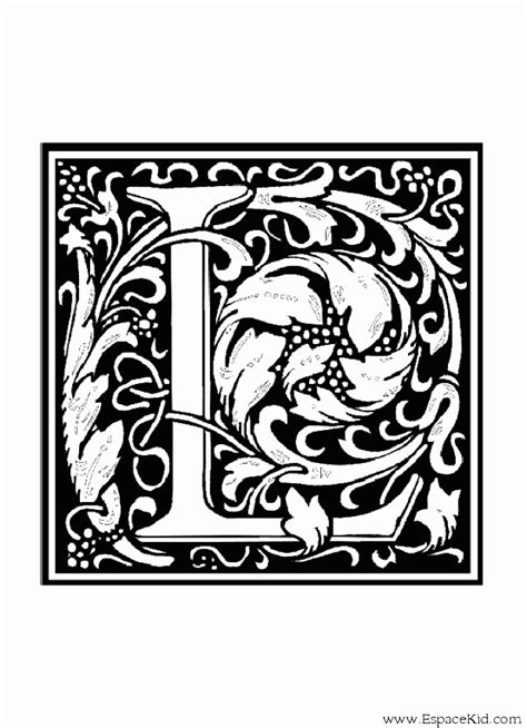 Coloriage Lettre L 224 Imprimer Dans Les Coloriages Lettrine Coloriage Lettre T Coloriages Lettrine L