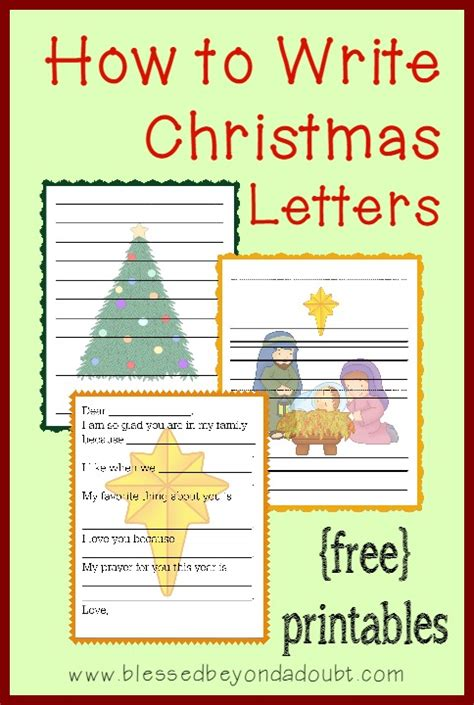 write christmas letters templatesfamily fun