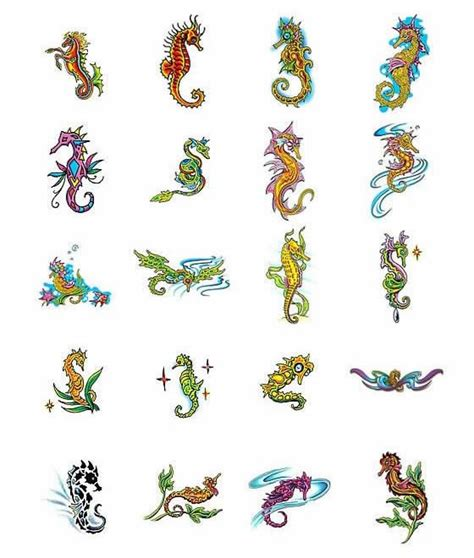 seahorse tattoos ideas tattoo collection