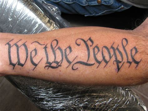 we the people tattoo by dannewsome on deviantart