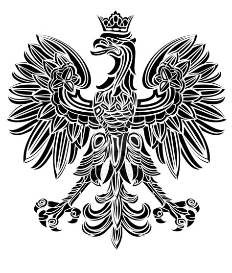 polish eagle tattoo designs tribal eagle by aquadeus on deviantart