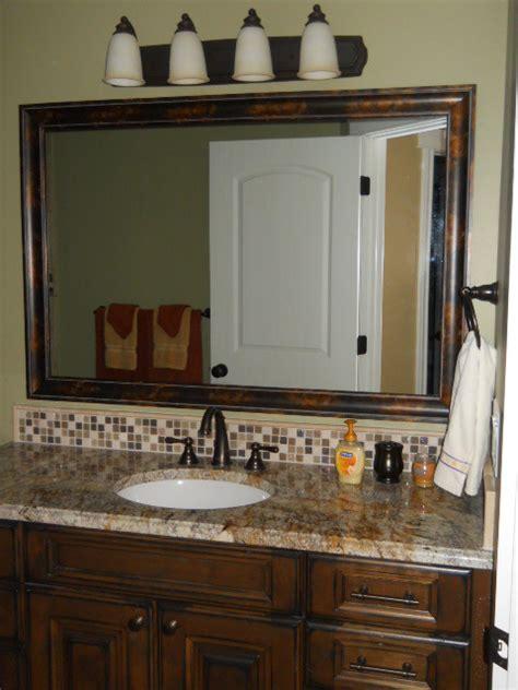 Vanity Mirror Frame Kit by Mirror Frame Kit Traditional Bathroom Mirrors Salt