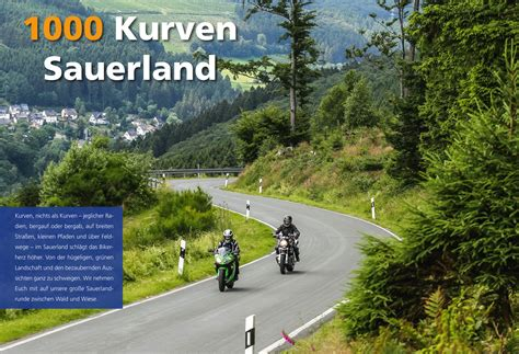 Motorrad News Sauerland by Reportagen Online 1000 Kurven Sauerland Motorrad