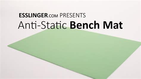anti static bench mat anti static watchmakers desktop bench mat youtube