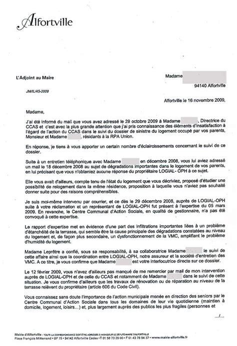 Exemple De Lettre Nous Soussignés Modele Lettre Logement Insalubre Document
