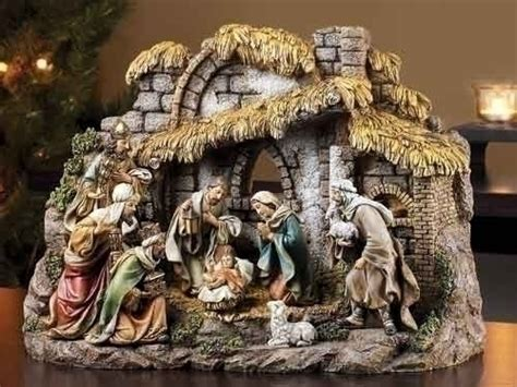 christmas manger sets joseph s studio nativity sets