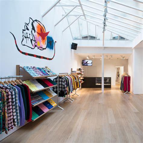 store supreme brinkworth designs honed and clean interior for supreme