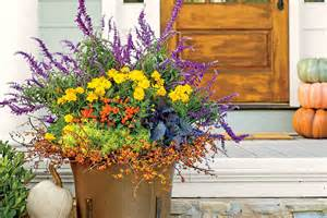 Fall Flower Garden Ideas All Fired Up Fall Container Gardening Ideas Southern Living
