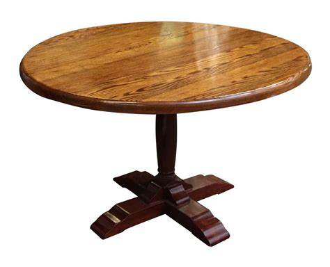 pedestal kitchen table contemporary round dining table contemporary round pedestal oak table olde good things