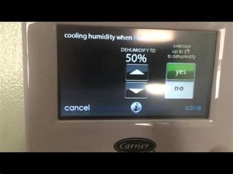 carrier infinity touch thermostat carrier infinity touch thermostat features