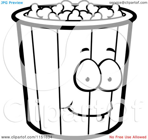 popcorn coloring pages preschool popcorn coloring pages