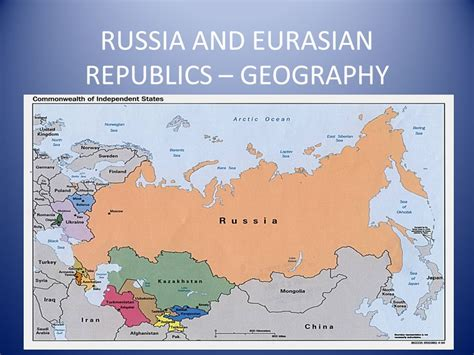 5 themes of geography on russia russia and eurasian republics geography ppt download