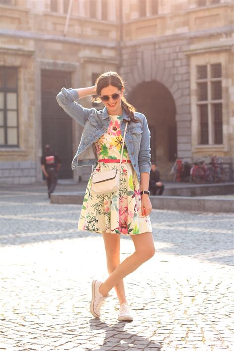 Promo Hm Floral Pastel Dress floral closet x zalando dress the styling dutchman