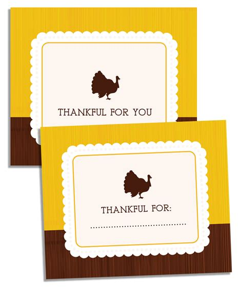 the creative cubby printable thanksgiving place cards
