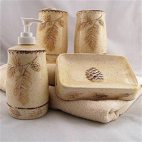 pine cone bathroom accessories pine cone bathroom accessories decor accessories for