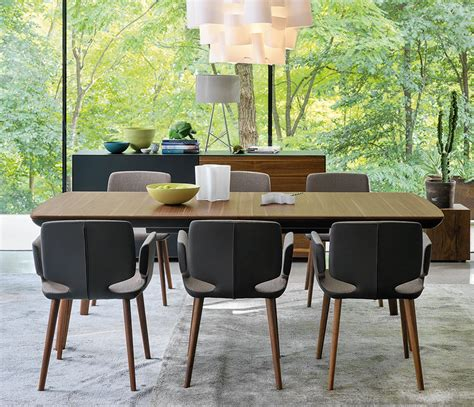 tisch yps preis wood and leather dining table flaye wharfside