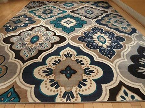 blue and brown area rugs brown and blue area rugs www omarrobles
