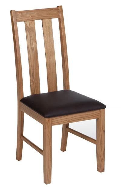 etan ash wooden padded dining chair dining room chairs
