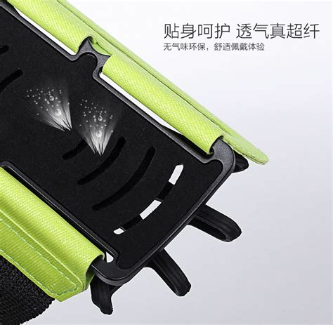 Wristband Smartphone Holder 180 Degree Rotatable 180 degree rotatable mobile phone arm band wristband blue free shipping dealextreme