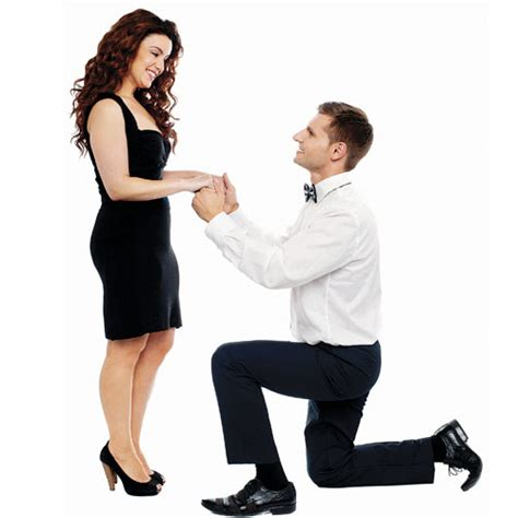 Proposing marriage without a ring