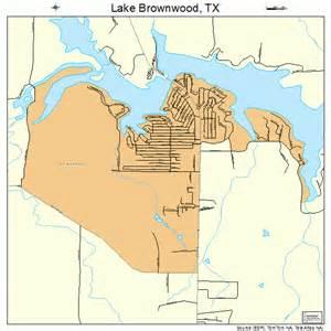 lake brownwood map 4840456