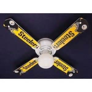 pittsburgh steelers ceiling fan 55 best steelers room decor images on pinterest steelers