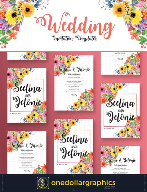 Wedding Invitation Psd by Wedding Invitation Flyer Design Template In Psd Format