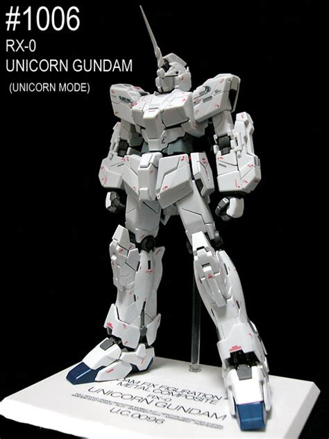 Gundam Fix Figuration Metal Composite Rx 0 Unicorn Gundam gundam fix figuration metal composite 1006 rx 0 unicorn gundam anime books