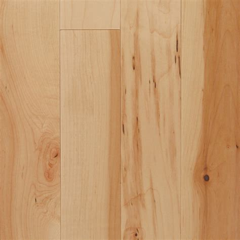 shop mullican flooring nature 4 in w prefinished maple hardwood flooring natural at lowes com