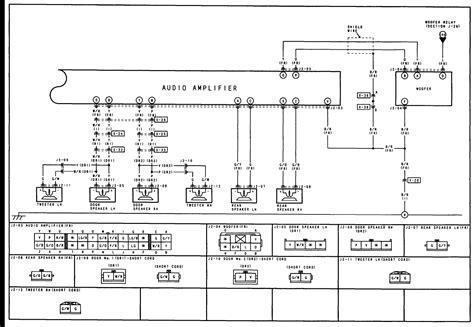bose cadillac lifier wiring diagram bose free engine