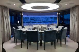 Dining Room Table For 12 Sumptuous Dining Table For 12 Guests Superyacht Quinta Essentia Luxury Yacht Charter