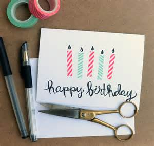 simple birthday card ideas diy birthday cards top 10 ideas that are easy to make