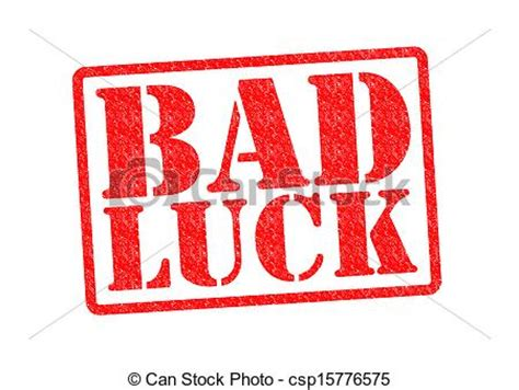 bad luck bad luck clipart