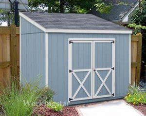 4 X 8 Lean To Shed by 4 X 8 Lean To Roof Storage Shed Blueprints Project