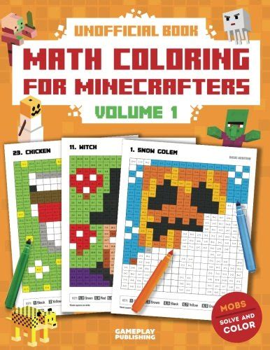 math facts for minecrafters multiplication and division books gameplay publishing author profile news books and