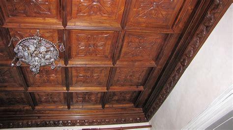 soffitto in legno lamellare artepronta sas soffitto in legno intersiato a cassettoni a