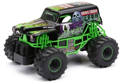 jam grave digger rc truck r c jam 174 truck grave digger 174 bright