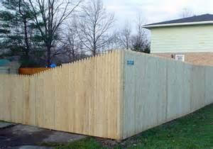 Beautiful Cedar Fence Panels #6: Stockade-Fence-lg.jpg