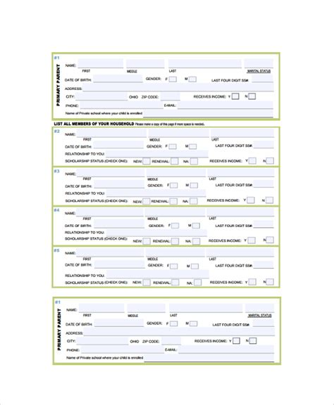 sle income verification form 9 free documents