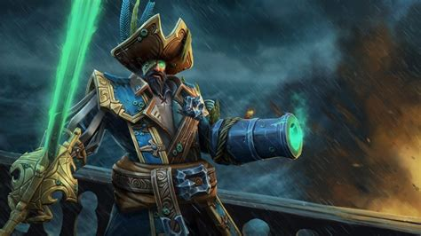 dota 2 wallpaper hd green dota 2 heroes captain kunkka hat top sword green eye