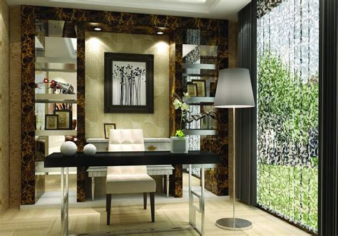 study room interior decoration with chinese furniture