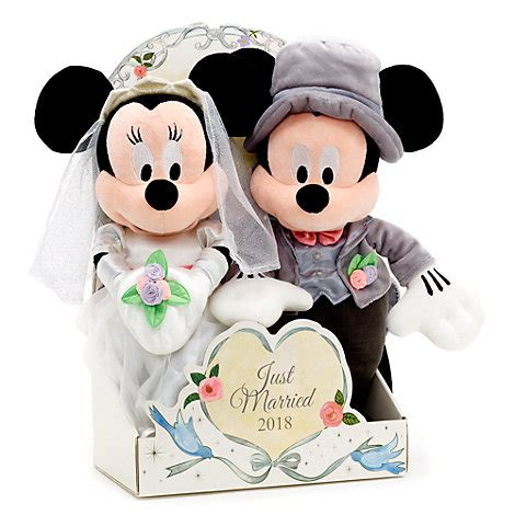 Wedding Toys by Mickey And Minnie Mouse 2018 Wedding Soft Set