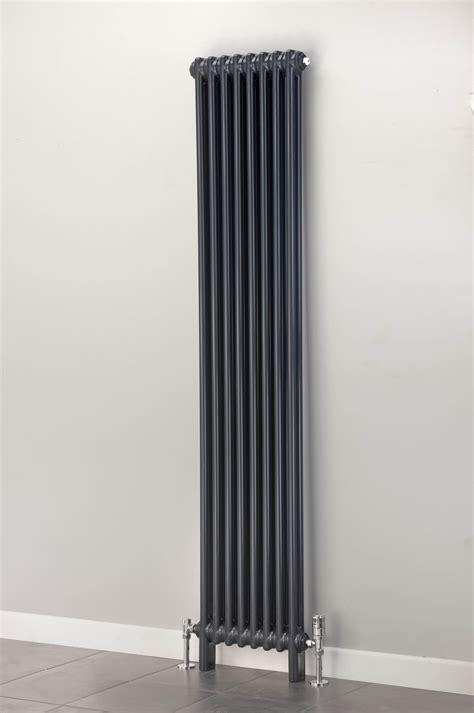 cast iron bathroom radiators cheshire radiators kingsley 2 column vertical steel radiator in colour cast iron