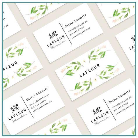 Visitenkarten Online Erstellen Und Ausdrucken by Visitenkarten Selbst Erstellen Und Drucken Kostenlos