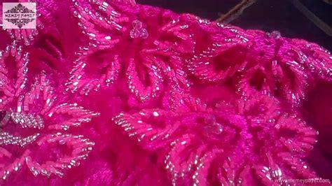 Kebaya Bali Brokat Bali 4 payet kebaya pink