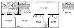 1600 Sq Ft Floor Plans by 1600 To 1799 Sq Ft Manufactured Home Floor Plans